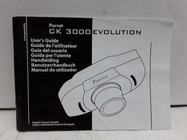 Parrot CK 3000 Evolution users guide owners manual - $14.84