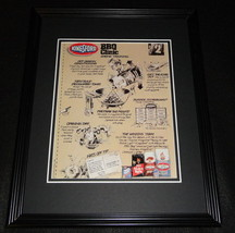 1989 Kingsford BBQ Clinic Framed 11x14 ORIGINAL Advertisement - $32.36