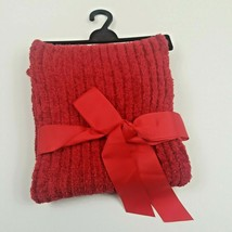 Christmas Red Winter Scarf Very Soft - $17.50