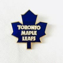 Vintage 1985 Toronto Maple Leafs Team Logo Lapel Hat Pin NHL Hockey Coll... - $9.50