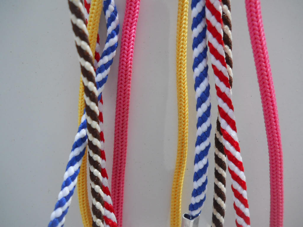 Ripple Candy Cane Styles Colored Handmade Nylon Colored Straps Sunglasses Eyegla