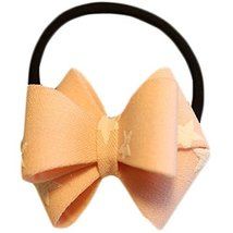 Fashion Hair Bands Bowknot Hair Rope Hair Accessories(Pink Stars)