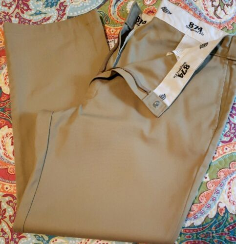 Primary image for Dickies Brand ~ 874 Original Fit Pants ~ Men's 42 x 30 ~ Khaki (Beige) in Color