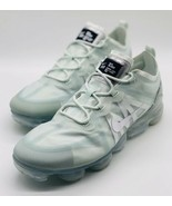 NEW Nike Air Vapormax 2019 Barely Grey Mint Green AR6631-005 Size 11.5 - $188.09