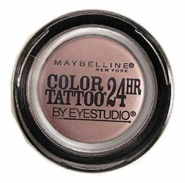 Maybelline Eyestudio Color Tattoo 24hr Eyeshadow #130 Black Orchid (3 PACK) - $14.52