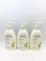 THREE Aveeno Positively Radiant Body Lotion 12 oz ea Enhances Skin - $69.99