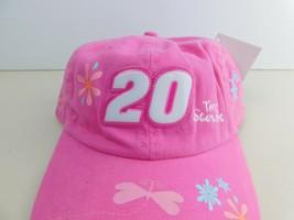 Womens Pink # 20 Tony Stewart Strapback Ball Cap Hat Nascar - $9.23
