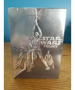 Star Wars Trilogy (DVD, 2004, 4-Disc Set, Wide Screen) - $12.82