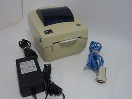 Zebra LP2844 Thermal Label Printer 42A063801776 USB Parallel Serial with Labels - $85.40