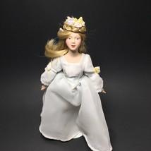 "Vintage Collectible Avon 1984 AVON Fairy Tale Cinderella Porcelain Doll 9"" - $26.99"