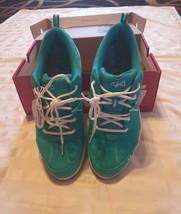 NIB Ryka Tempo Women's Canvas Water Resistant Sneakers Aqua/Teal Size 10 M  - $39.39