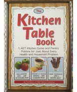 Kitchen Table Book, FC&A Medical Publishing, 374 Pages of Kitchen Cures,... - $12.50