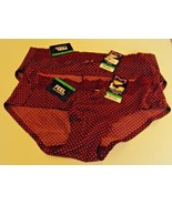 4 Maidenform Comfort Devotion hipsters  Size  7 Maroon polka dot  Style ... - $19.70
