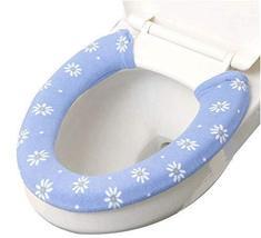 PANDA SUPERSTORE 2 Pcs Toilet Seat Cushion Toilet Mat Toilet Seat Toilet Seat Sl