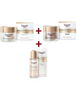 Eucerin Lot Hyaluron Filler + Elasticity day + night creme + oil serum - $128.69