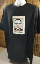 President Barack Obama Shirt Clown Face Socialism TShirt Black Mens 2XL   - $28.45