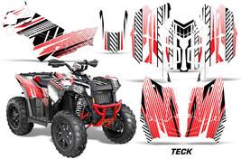 ATV Graphics Kit Decal Wrap For Polaris Sportsman 850/1000 2013-2016 TECK RED - $169.95