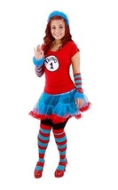 Dr. Seuss The Cat In The Hat Thing 1 & 2 Knee High Striped Socks LICENSE... - $17.37