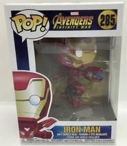 Funko Pop Vinyl Figurine Iron Man 285 Avengers Infinity War #3 - $14.24