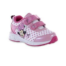 NWT Toddler Child Girls Disney Minnie Mouse Sneakers Size 11 - $18.99