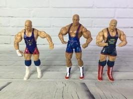 2003 Jakks Pacific WWE Kurt Angle American By Birth Wrestling Action Fig... - $18.80