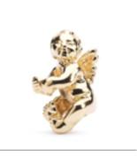 Authentic Trollbeads CHERUB BEAD, 18k GOLD ($1,070.00 retail) SKU: 21322 - $850.00