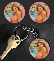 Super Model KATE UPTON Key Chain & 2 Magnet Set B KEYCHAIN & MAGNETS - $6.79