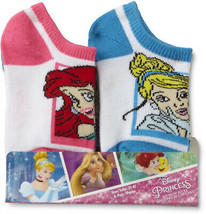 Disney Princess Toddler Girl's 6-Pairs No-Show Socks - $21.27