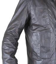 Star Pilot Brown Awakens Han Cosplay Solo Leather Wars Jacket image 3