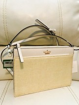 NWT Kate Spade Cameron Street Clarise Crosshatched Leather Crossbody Clutch Bag - $94.00