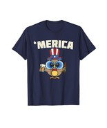 Brother Shirts - Cute Merica Owl Shirt 4th Of July Party Gift Men - $19.95+