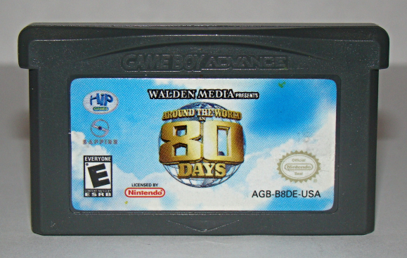 Primary image for Nintendo GAME BOY ADVANCE - AROUND THE WORLD IN 80 DAYS (Game Only)