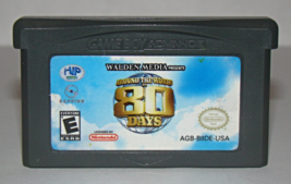 Nintendo GAME BOY ADVANCE - AROUND THE WORLD IN 80 DAYS (Game Only) - $8.00