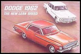 1962 Dodge Brochure, Dart, Lancer, GT, Xlnt! - $9.22