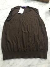 Ralph Lauren Collection Womens 100% Cashmere Lightweight Sweater Vest $6... - $99.99