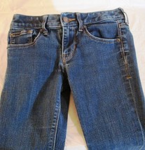 Express Womens Size 00S Dark Wash Barely Boot Low Rise J EAN S Shorts Pants (C) - $15.00