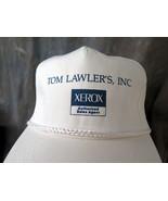 Tom Lawler's Inc. Xerox Authorized Sales Agent White Cap - $2.50