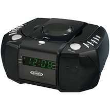 JENSEN JCR-310 Dual Alarm Clock AM/FM Stereo Radio with Top-Loading CD P... - $51.69