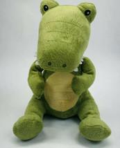 "Baby Aspen Plush 10"" Dinosaur Green That Rattles Stuffed Animal Toy No B... - $18.13"