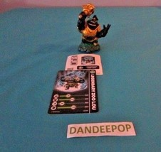 Skylanders Figure Legendary Zoo Lou W3136A w/ cards Activision video Game - $7.67