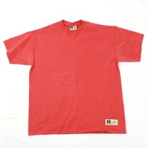 Russell Athletic Herren T-Shirt Vintage Kurzärmlig Selten Korallenrot Farbe - $24.69