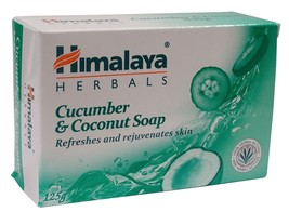 5x Himalaya Cucumber & Coconut Soap To freshen you up free shipping - $24.74
