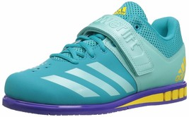 adidas Women s Powerlift 3 1W Cross Trainer Shoes Blue edium US 13.5 - $59.40