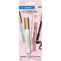 L'oreal Paris Valuminous Primer & Lash Mascara Blackest & White 2COUNT - Pk Of 2 - $45.44
