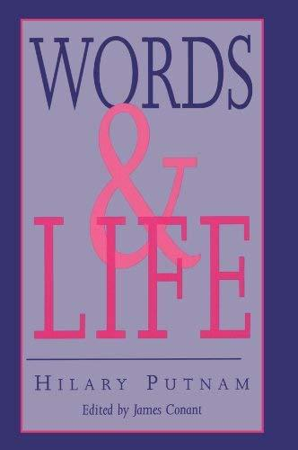 Words and Life [Paperback] Putnam, Hilary and Conant, James
