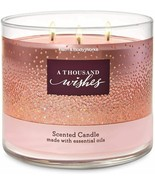 Bath & Body Works A Thousand Wishes Three Wick.14.5 Ounces Scented Candle - $23.95