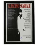 Al Pacino Signed Framed Scarface Movie Poster BAS Hologram - $1,219.67