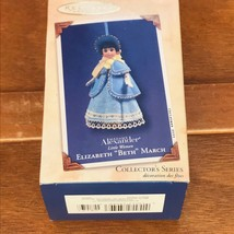 Hallmark Madame Alexander Little Women Elizabeth BETH March Christmas Tr... - $8.59