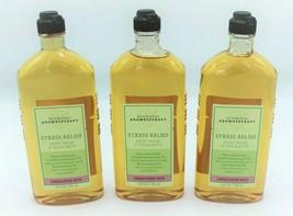 Lot of 3 Bath and Body Works Aromatherapy Sandalwood Rose Body Wash 10 o... - $54.99