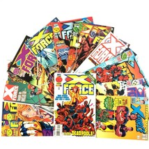 X-Force Comic Book Lot 13 Issues VF NM Marvel Deadpool Cable Mister Sinister - $24.70